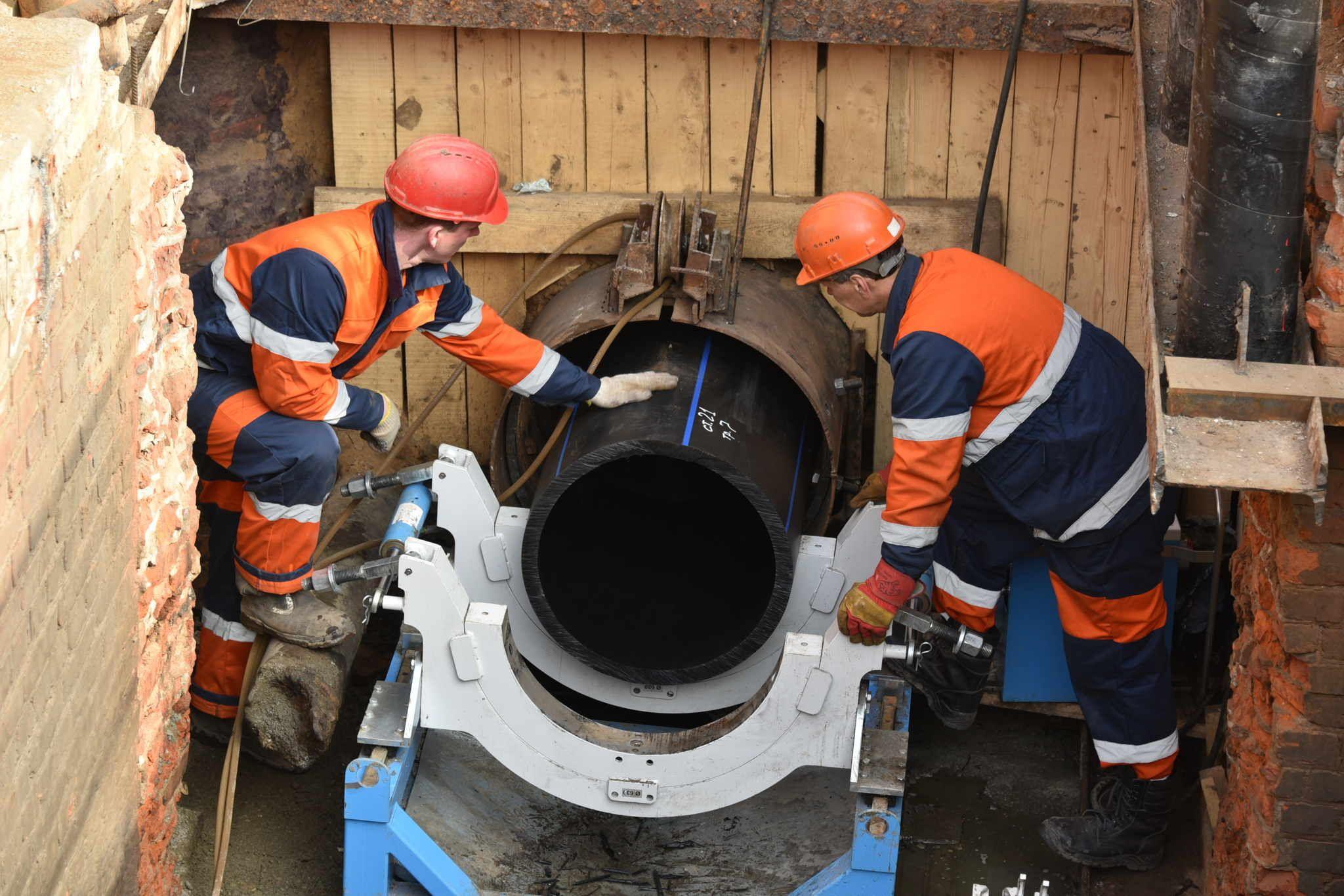 Реконструкция водопровода пройдет на юго-западе и юго-востоке Москвы