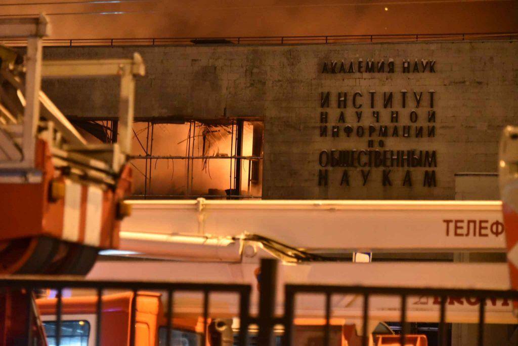 Пожар здесь произошел в 2015 году. Фото: Владимир Новиков