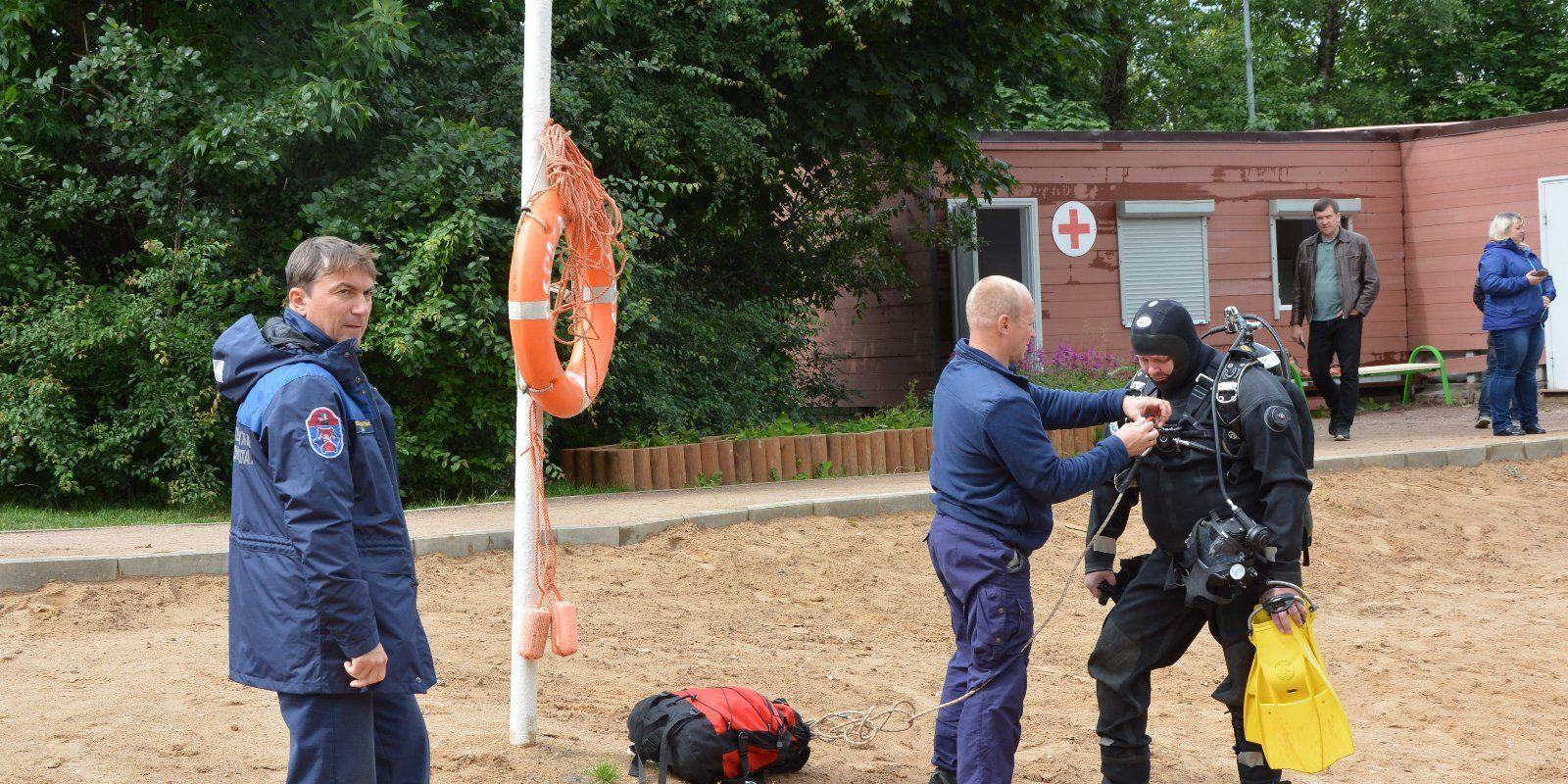 Фото: Пресс-служба Департамента по делам гражданской обороны, чрезвычайным ситуациям и пожарной безопасности города Москвы