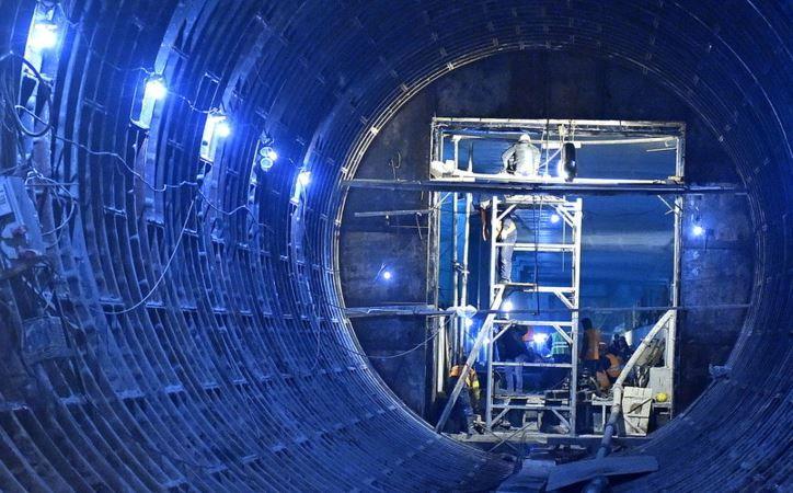 Новый тоннель начали строить от станции метро «Каховская»