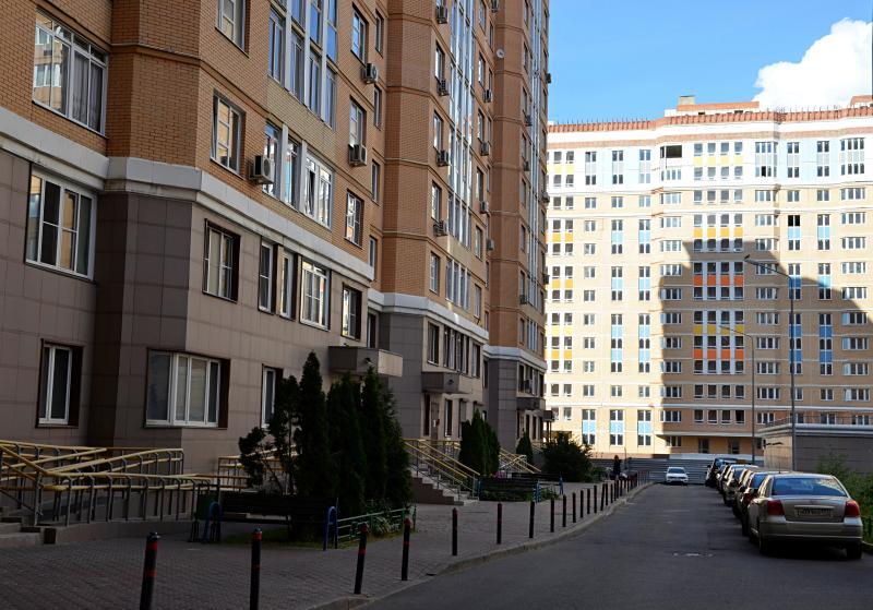 Центральную дорогу в новом жилом комплексе в Царицыне введут в эксплуатацию