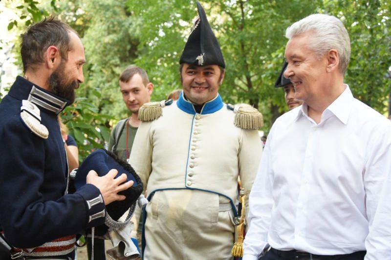 Собянин: Крупные фестивали привлекают большое количество туристов