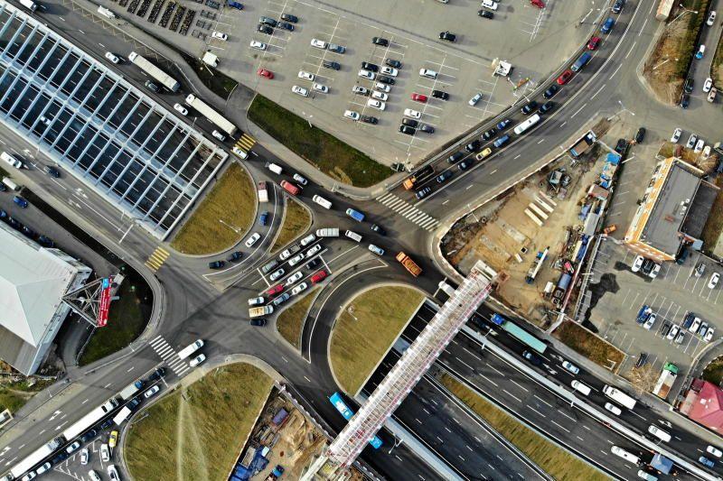 Москва на 2 месте в мире по темпам ввода улично-дорожной сети