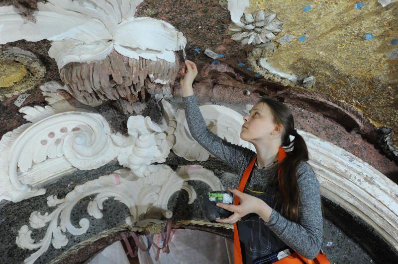 Реставраторы Москвы обнаружили уникальные барельефы на ВДНХ