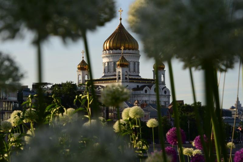 В Москву привезут мощи святых Петра и Февронии. Фото: Пелагия Замятина, «Вечерняя Москва»