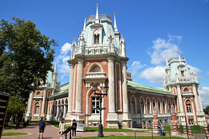 Посетителями музея-заповедника «Царицыно» стали более трех миллионов человек
