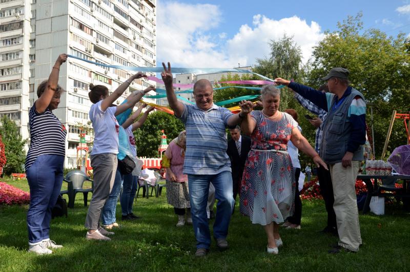 Праздник семьи отметили в Территориальном центре социального обслуживания «Коломенское»