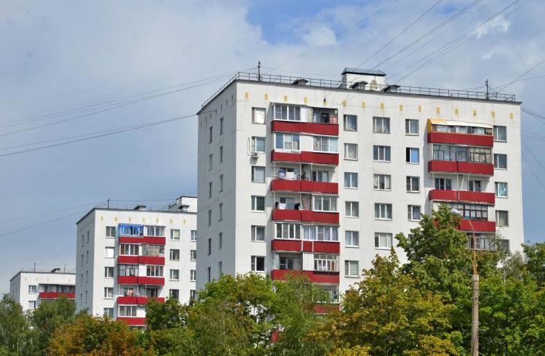 Фасады трех домов обновят в Нагатинском Затоне