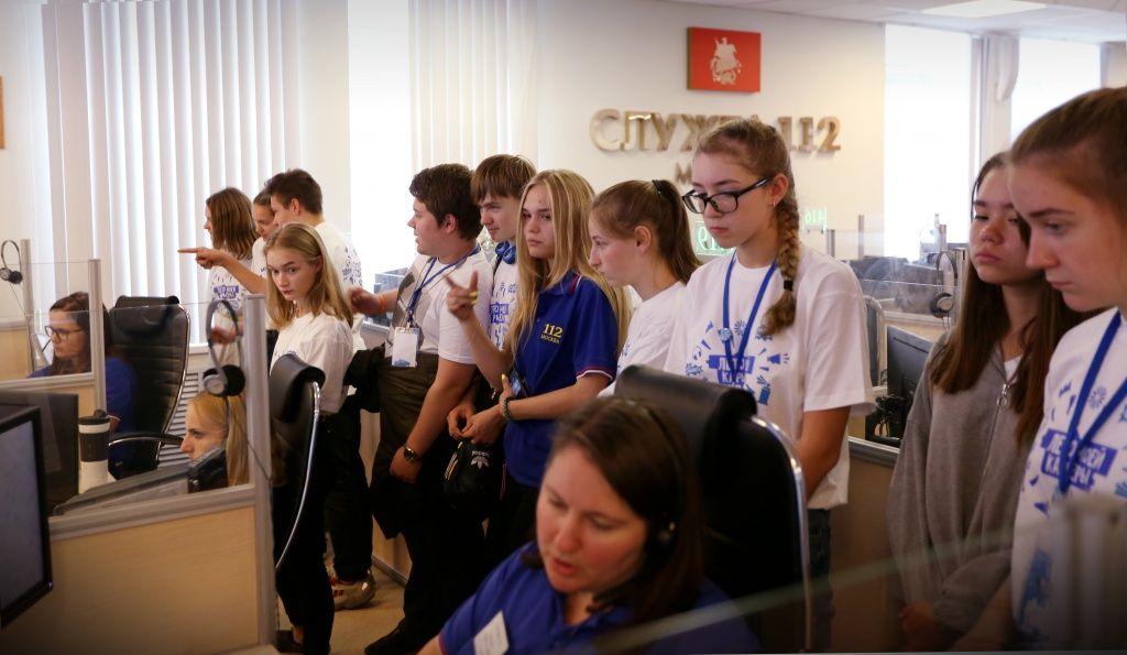 Что нужно знать не только детям, но и взрослым: экскурсии в Службе 112 Москвы