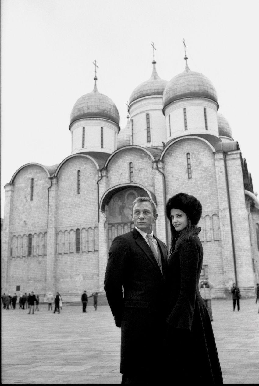 В объектив Кудрявцева попадали многие звезды. В их числе сыгравший роль Джеймса Бонда Дэниэл Крэйг, актриса Ева Грин. Фото: из личного архива