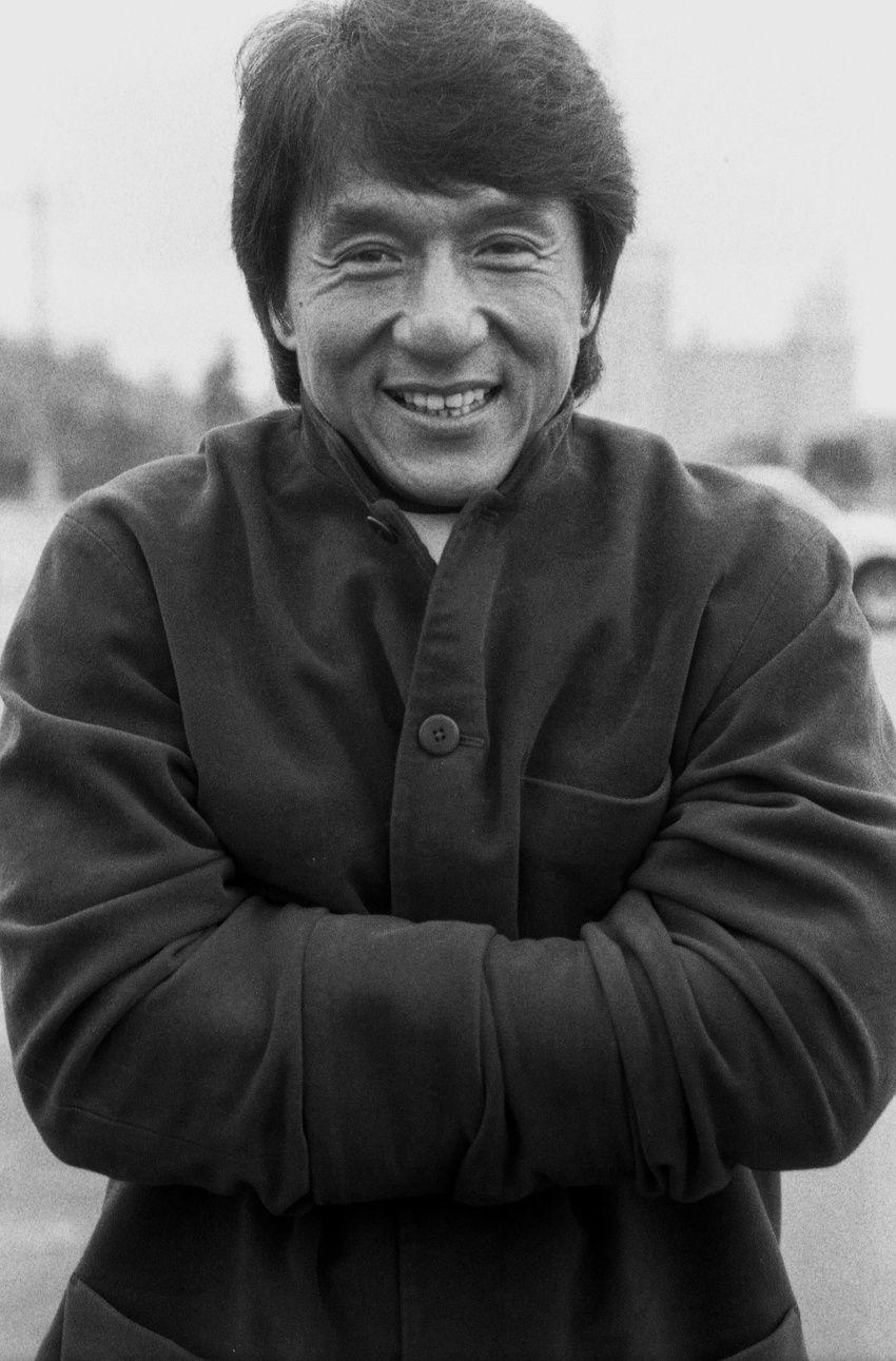 В объектив Кудрявцева попадали многие звезды. В их числе актер Джеки Чан. Кадры сделаны в Москве. Фото: из личного архива