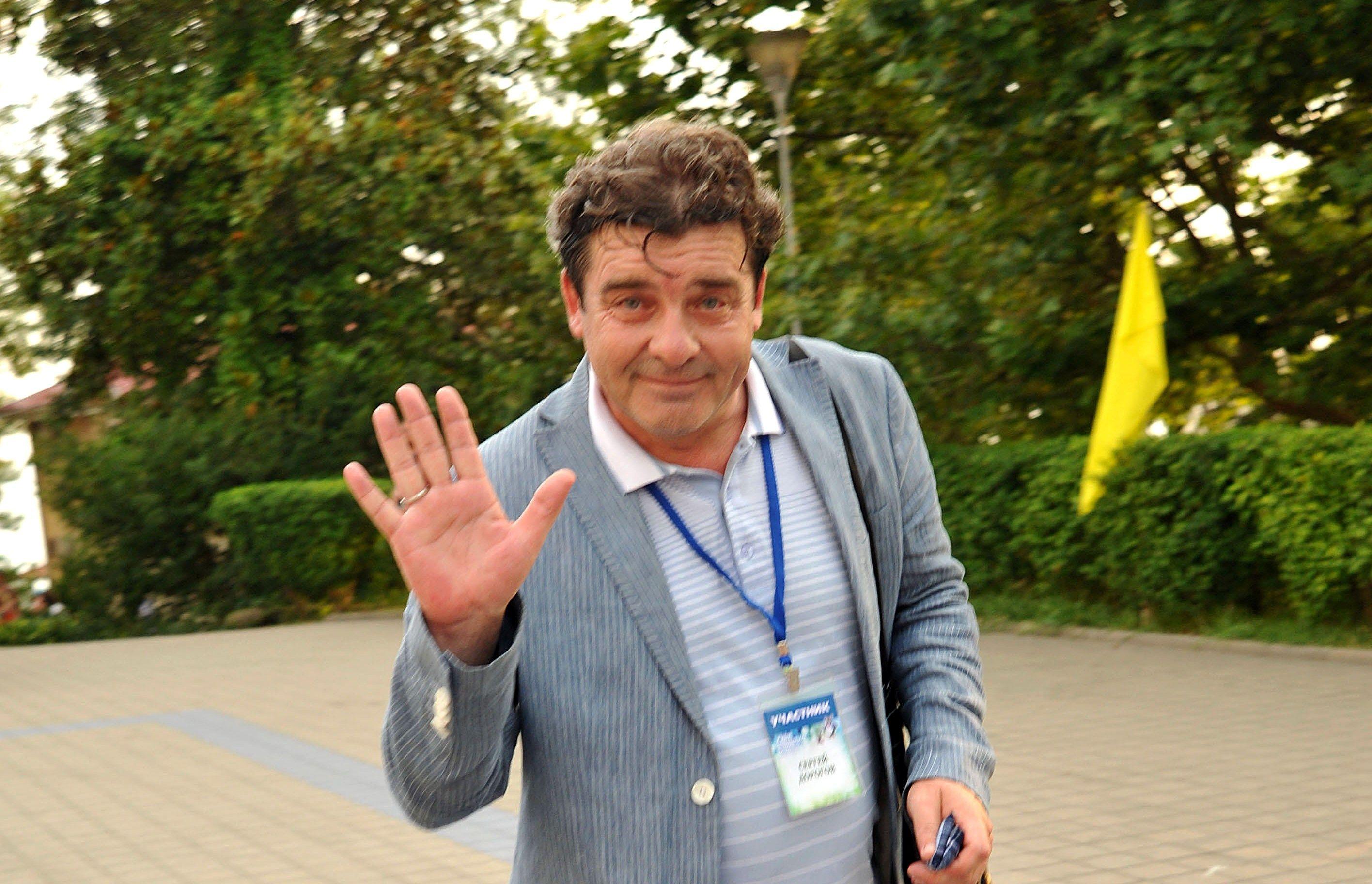 Сергей Дорогов: Бежал на сцeну прямо со стройки