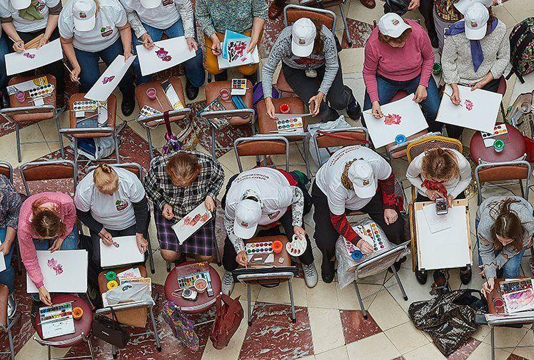 В Москве пройдет выставка работ участников «Московского долголетия»