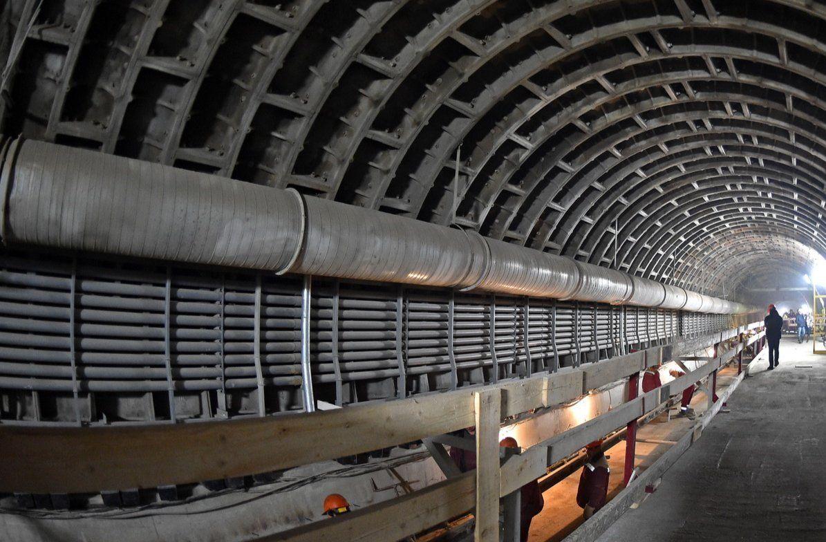 Участок тепловой сети в Нагатинском Затоне перенесут из-за строительства Большой кольцевой линии метро