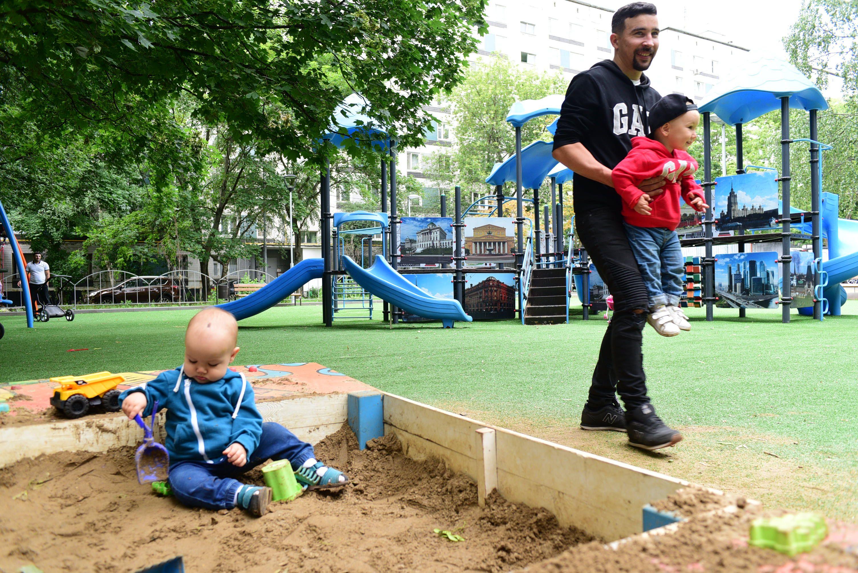 Детские площадки станут безопаснее