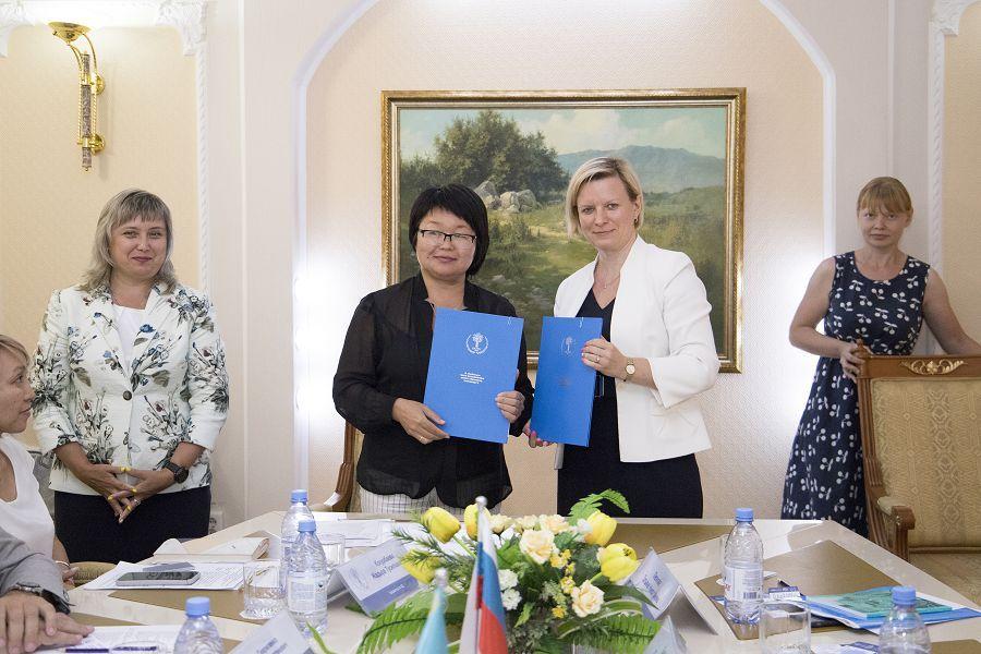 Национальный исследовательский ядерный университет начал сотрудничать с казахским университетом. Фото: официальное сообщество НИЯУ «МИФИ» Вконтакте