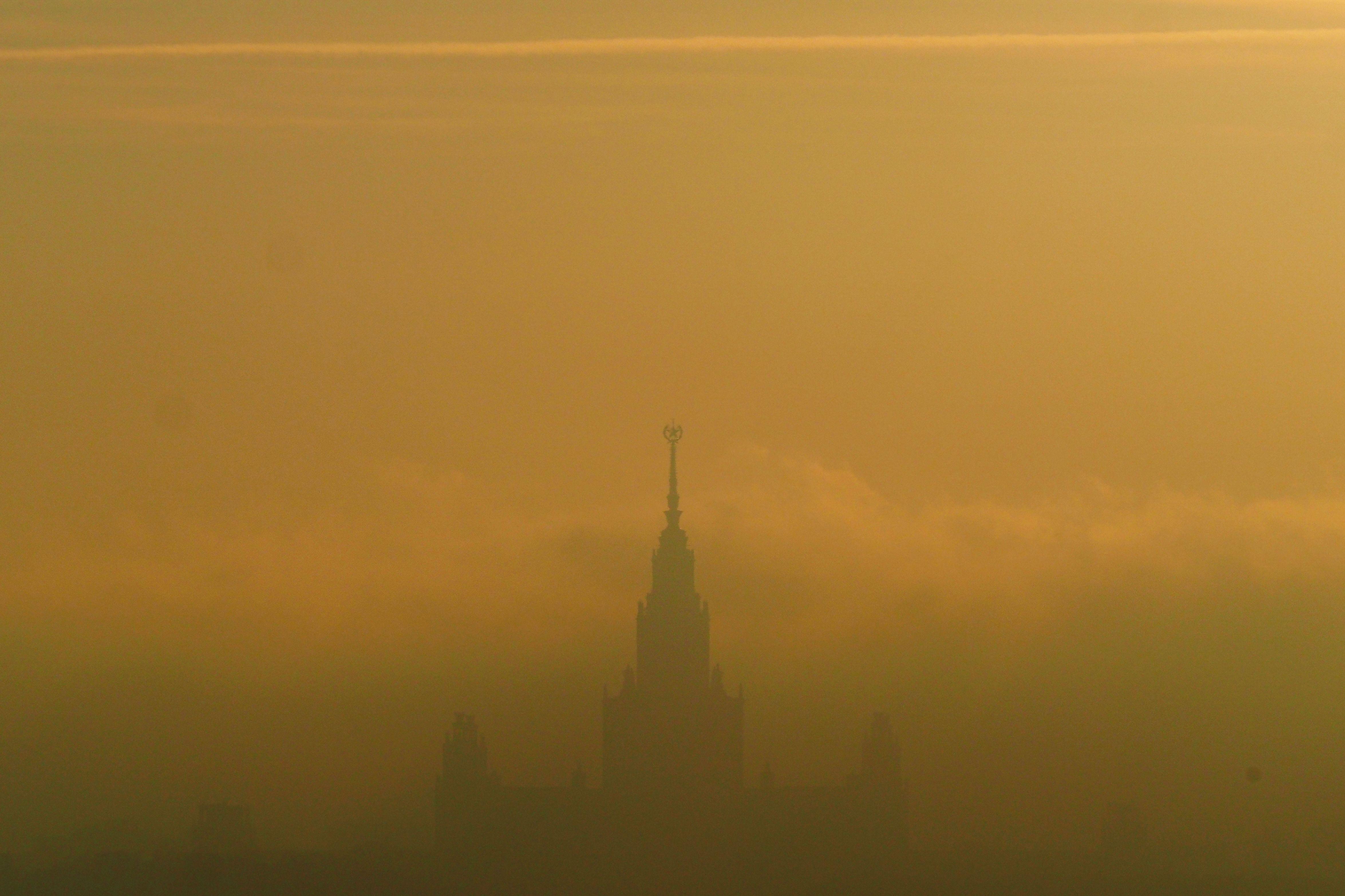 Вечером жители Москвы окажутся под влиянием «желтого» уровня опасности