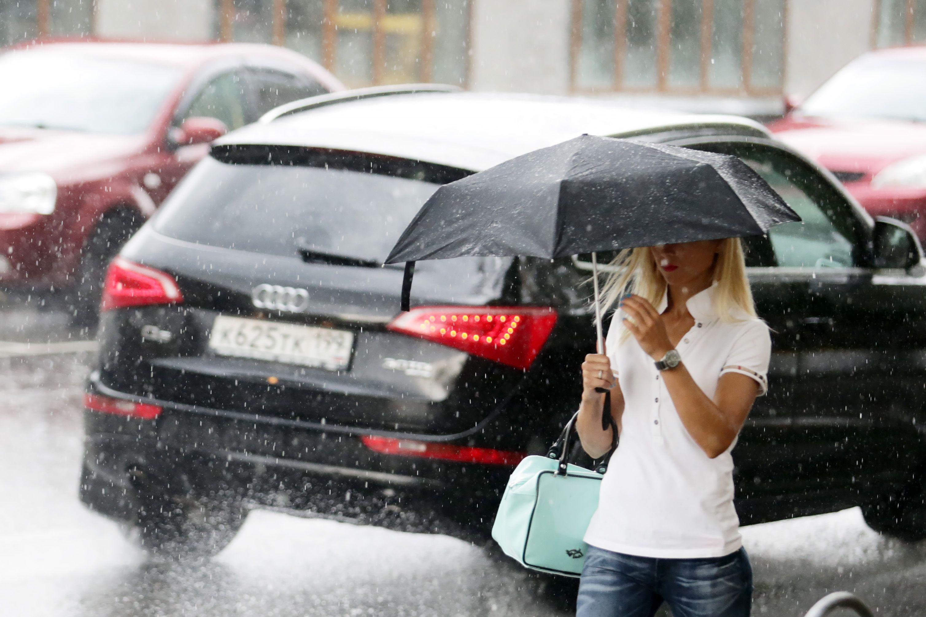 На выходных в Москве будет пасмурно и дождливо