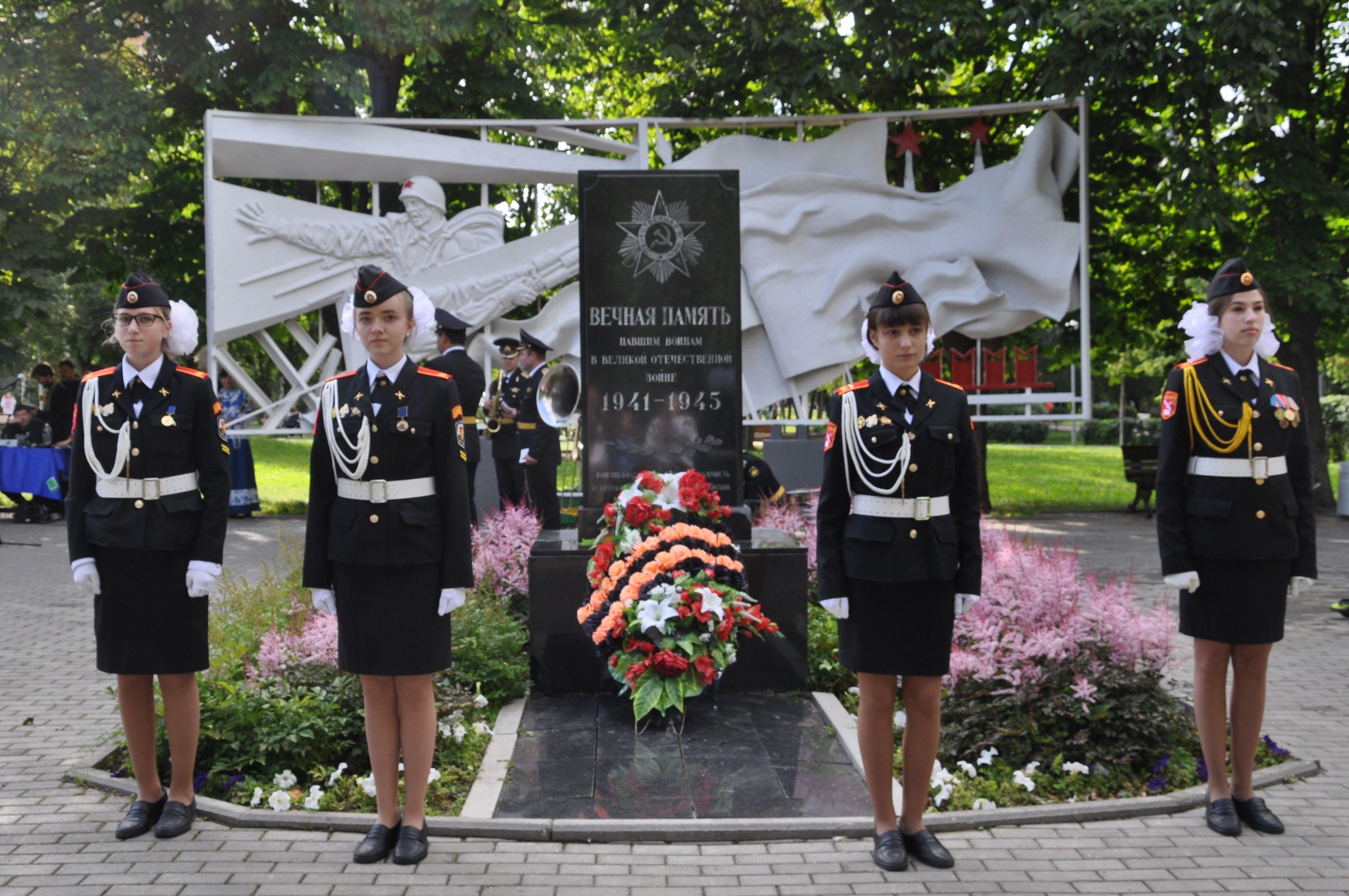 Торжественное открытие обновленной экспозиции военной техники состоялось в Парке 30-летия Победы