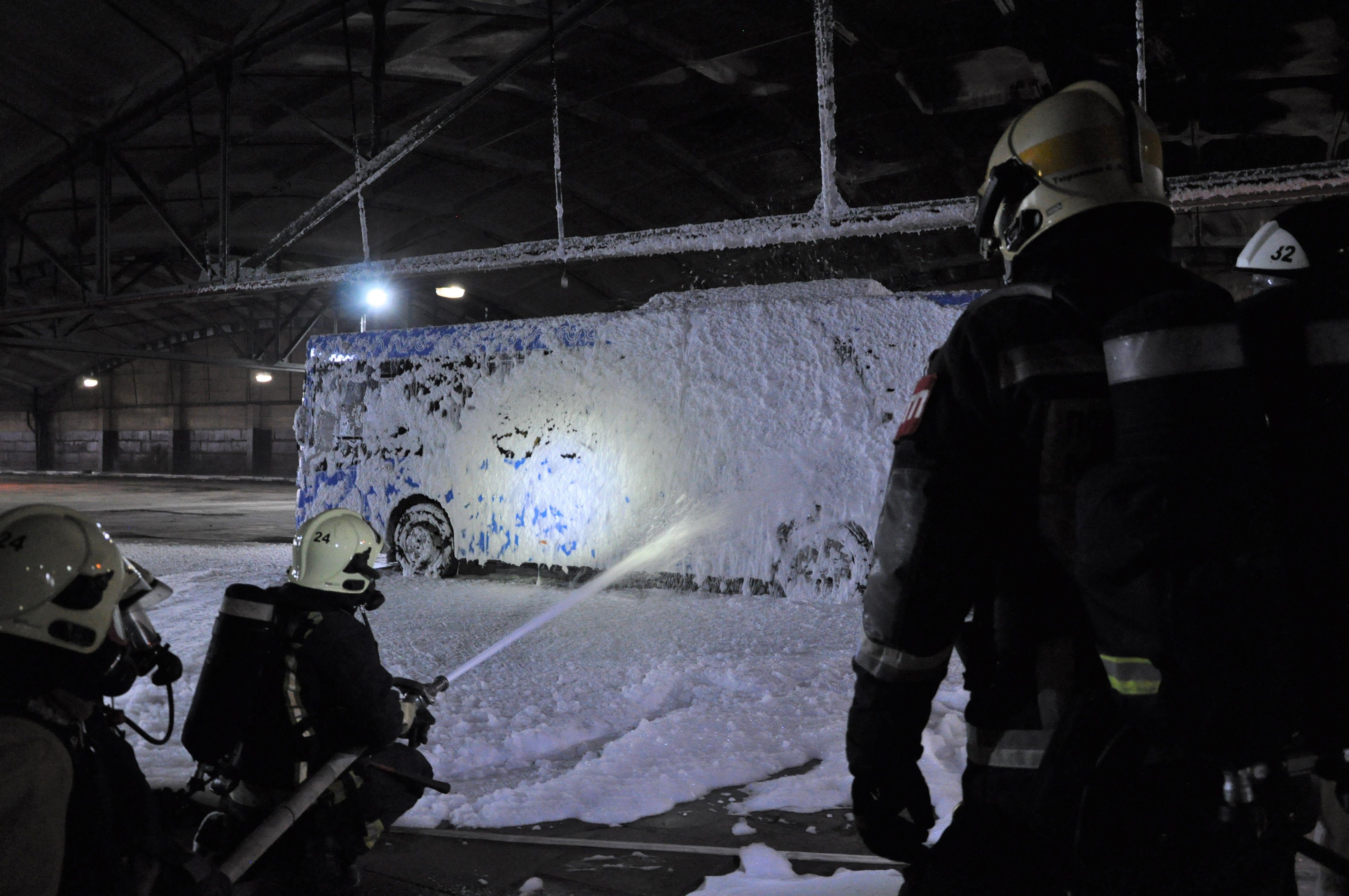 Пожарно-тактические учения состоялись в Чертанове Центральном