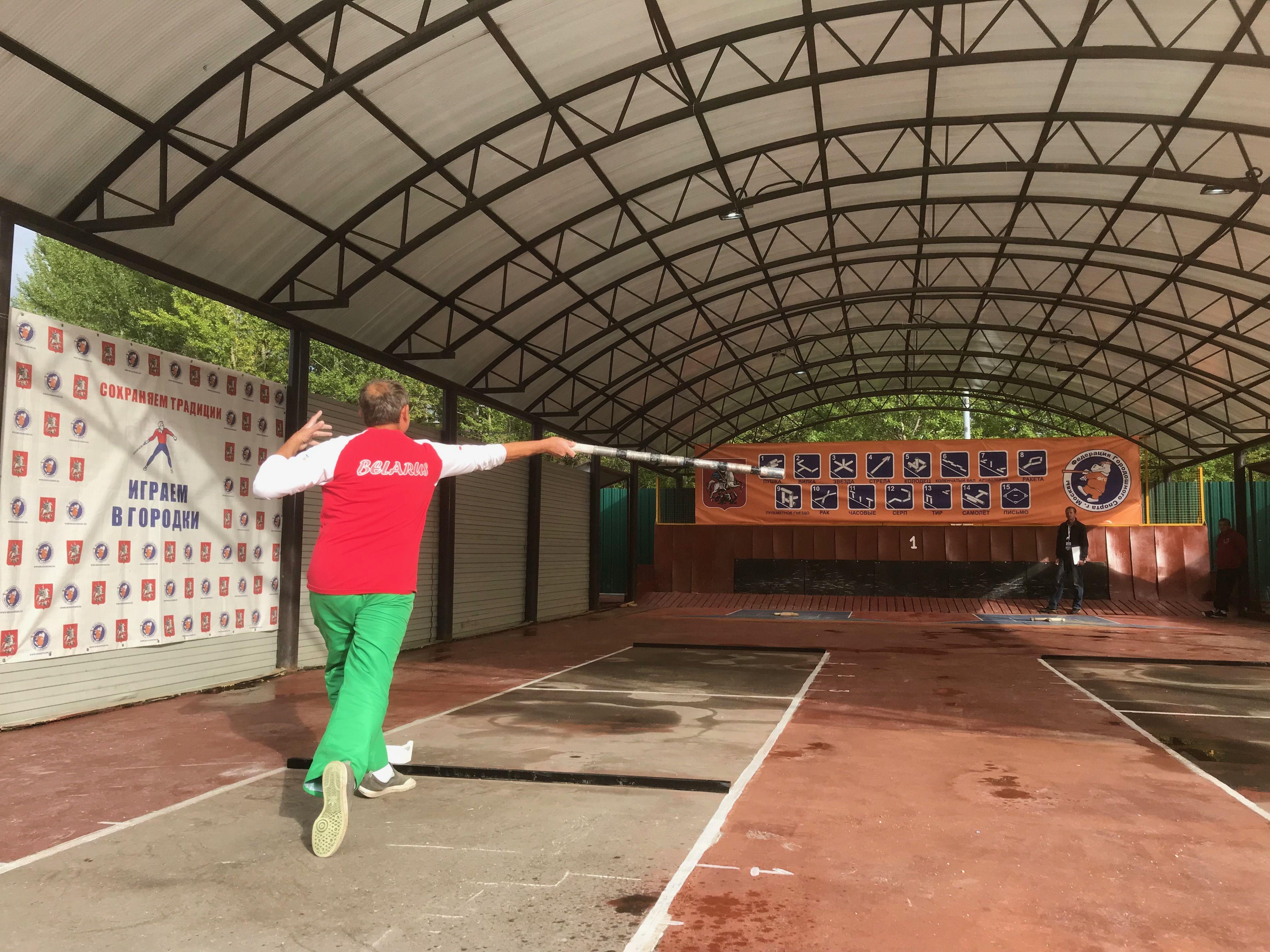 Соревнования по городошному спорту стартовали в музее-заповеднике«Коломенское»