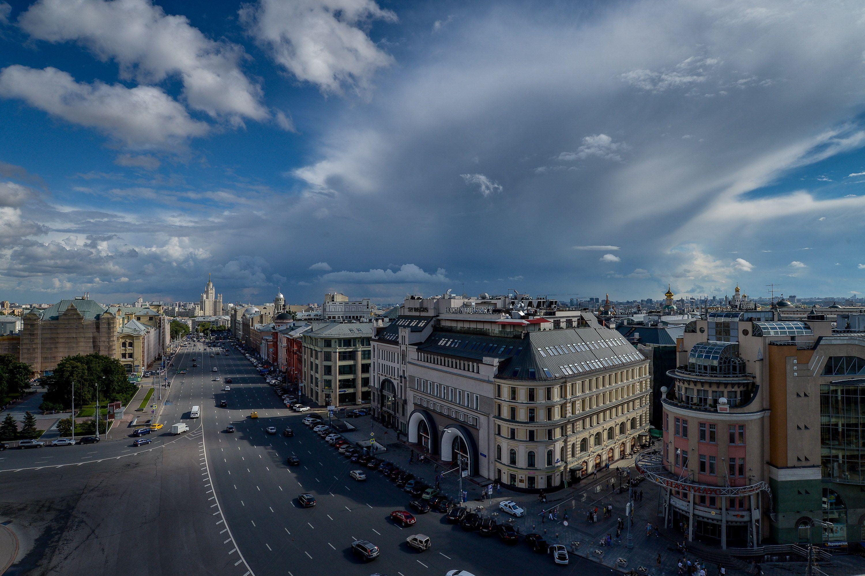 На улицах Москвы похолодает и разъяснится