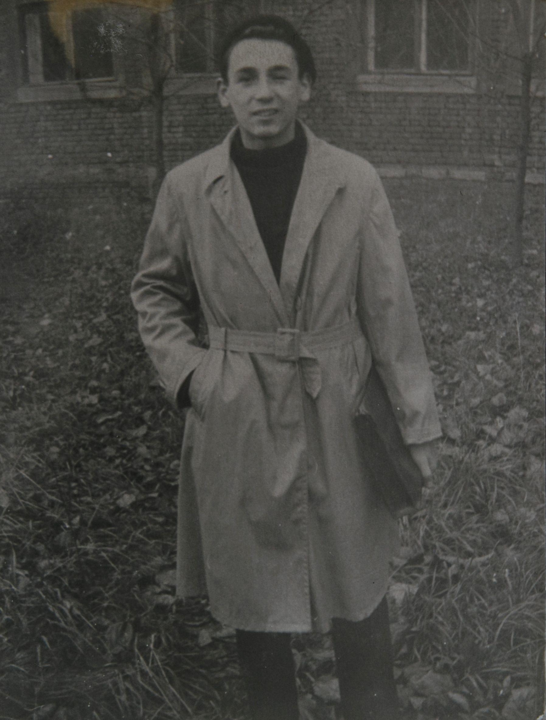 1961 год. На втором курсе в вузе. Фото из личного архива