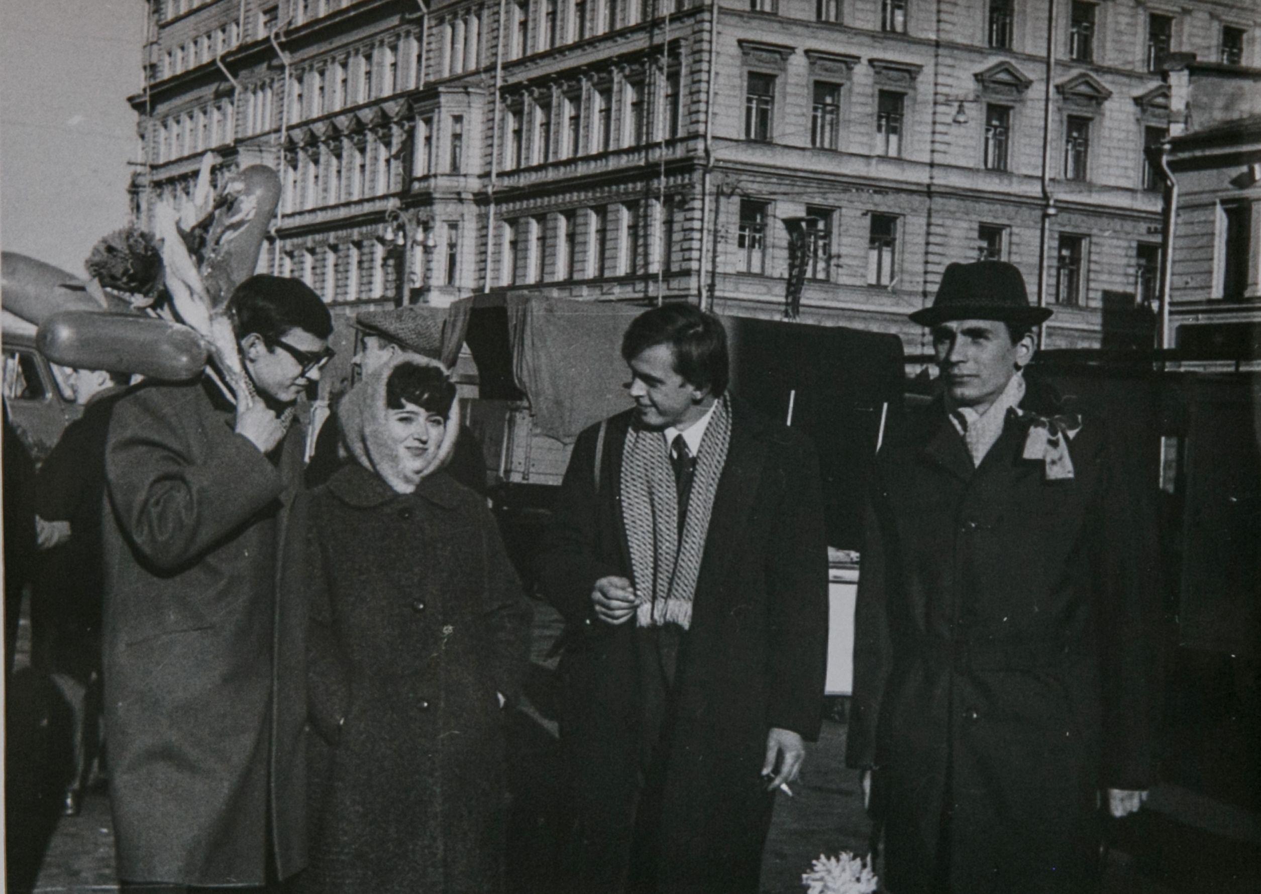 На демонстрации 7 ноября 1969 года. Фото из личного архива