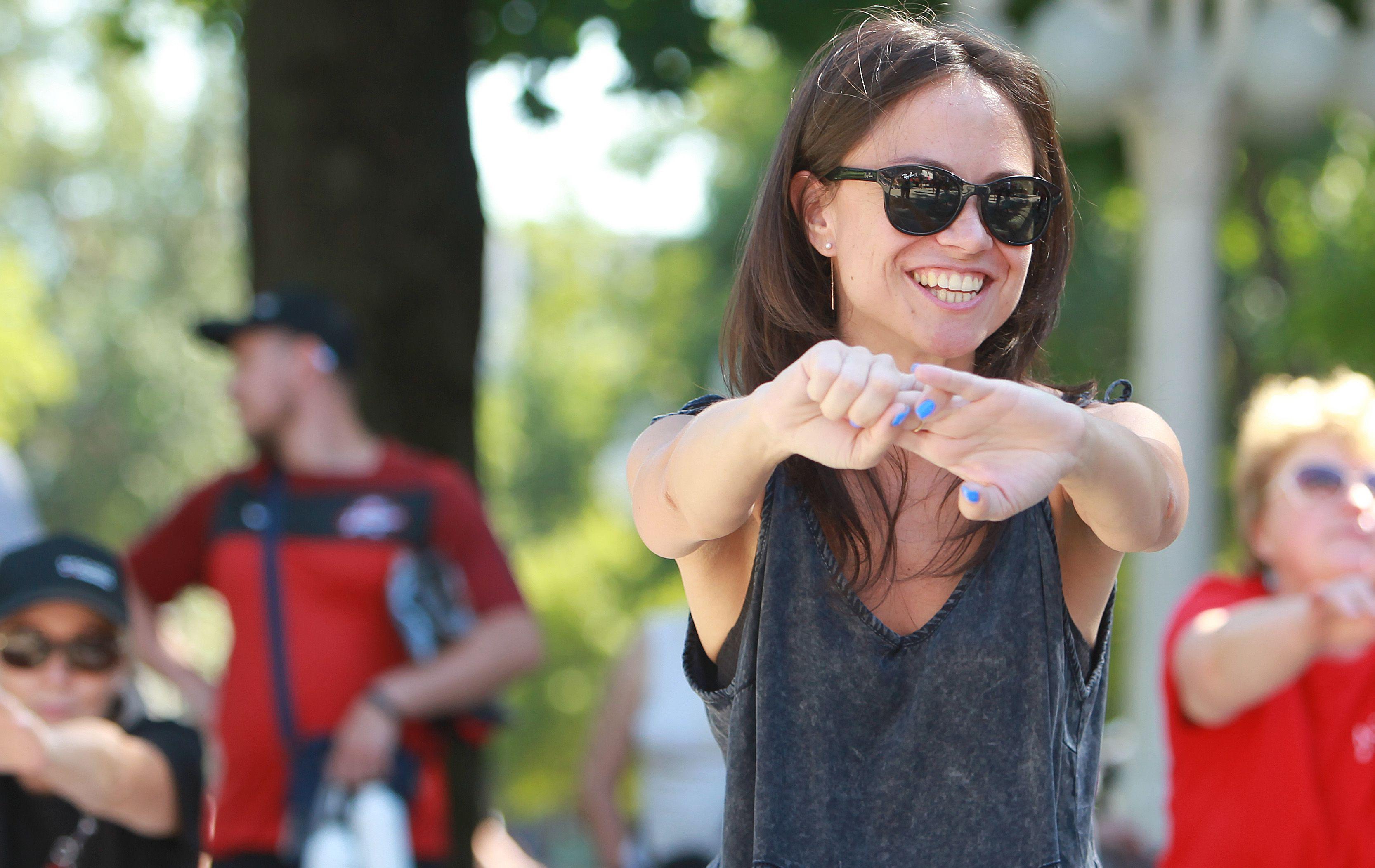 Занятия зумбой стали самыми популярными у посетителей площадок «Здоровая Москва»
