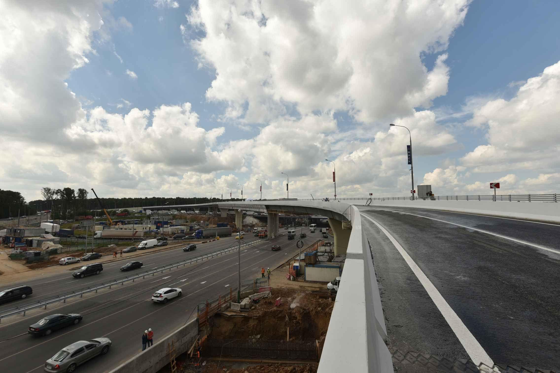 Работы по реконструкции пяти развязок на МКАД стартуют в 2021 году