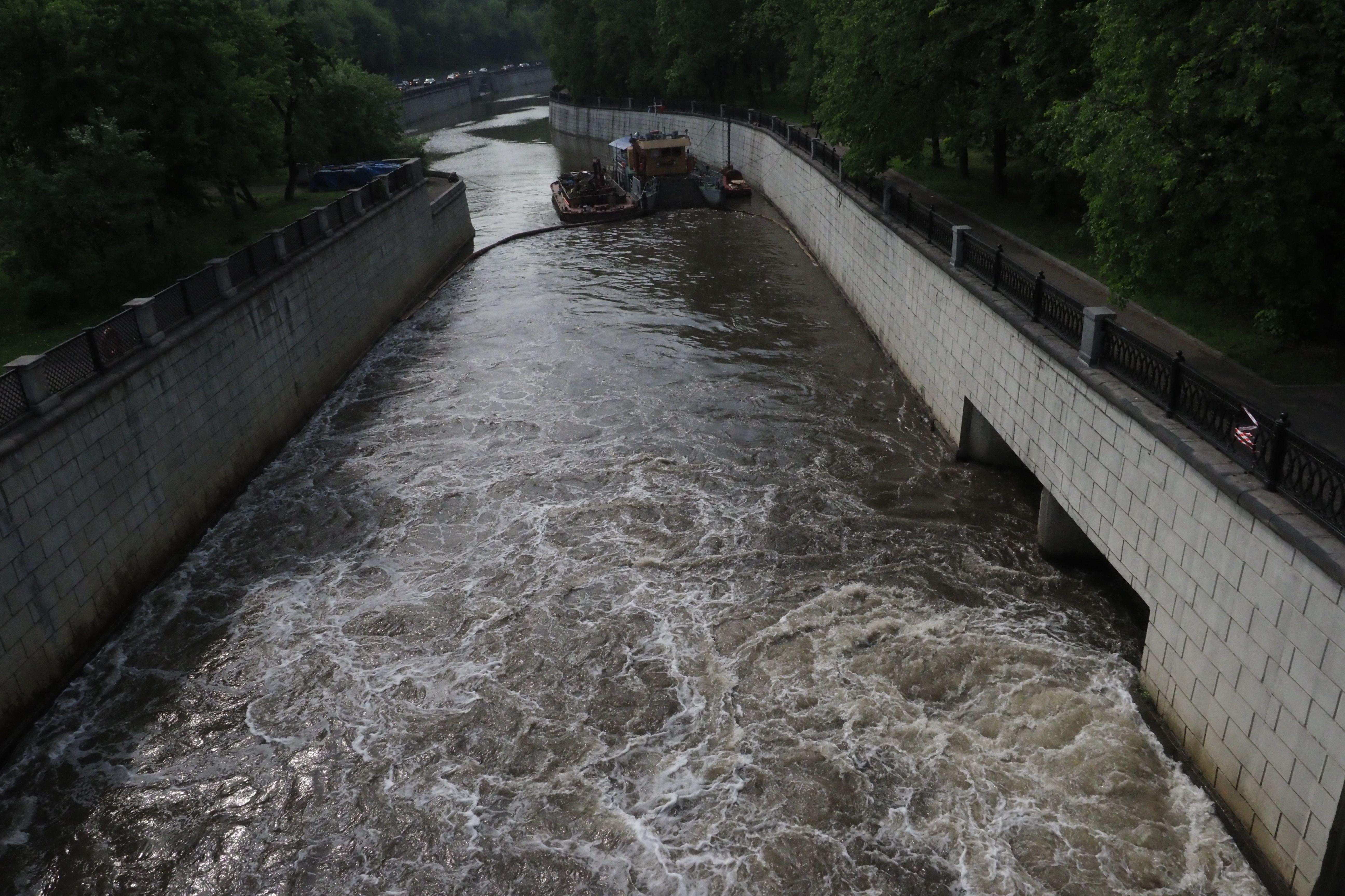 Перервинский гидроузел реконструируют на юго-востоке Москвы