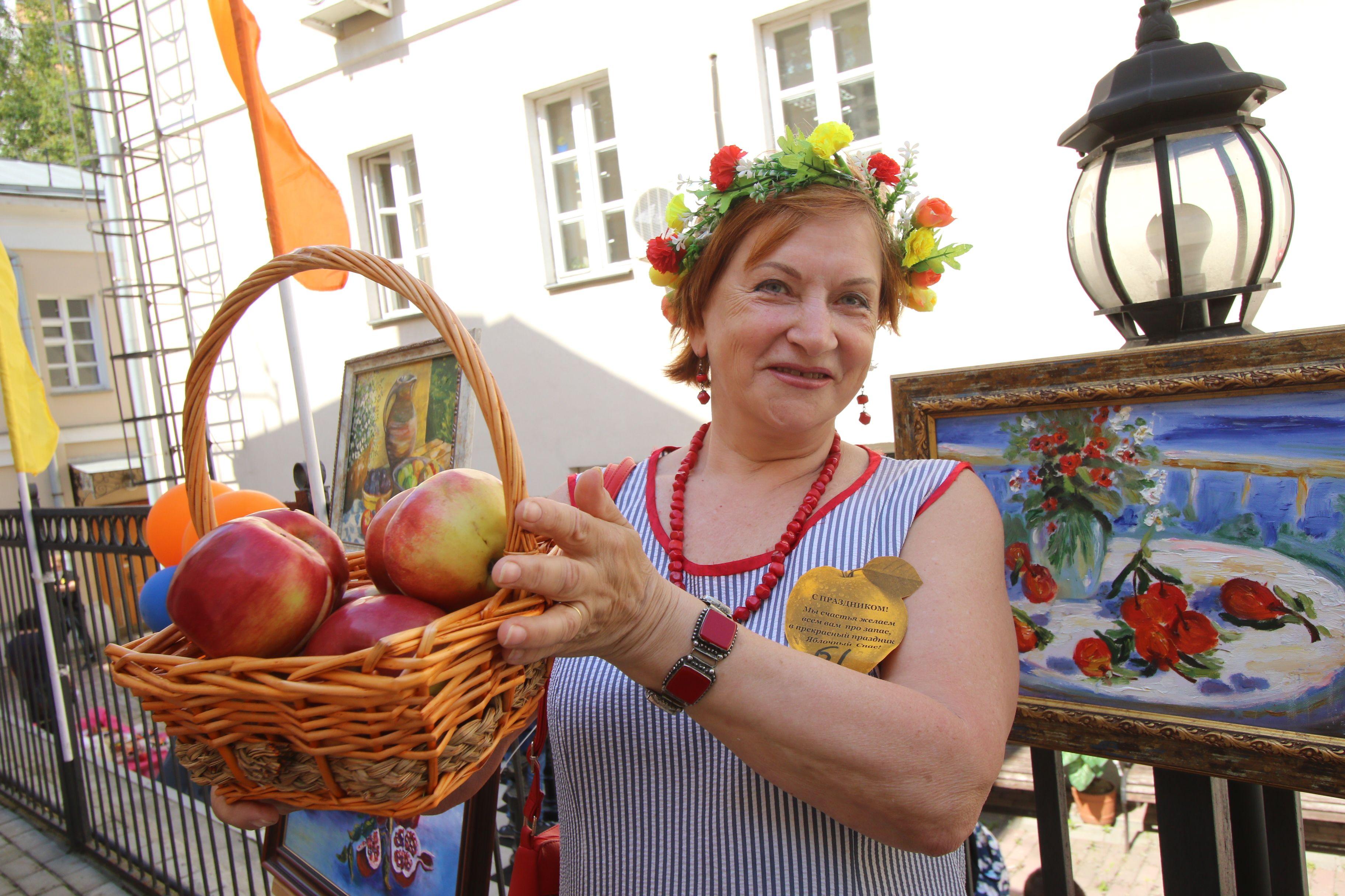 Фестиваль «Яблочный Спас» организуют на юге Москвы