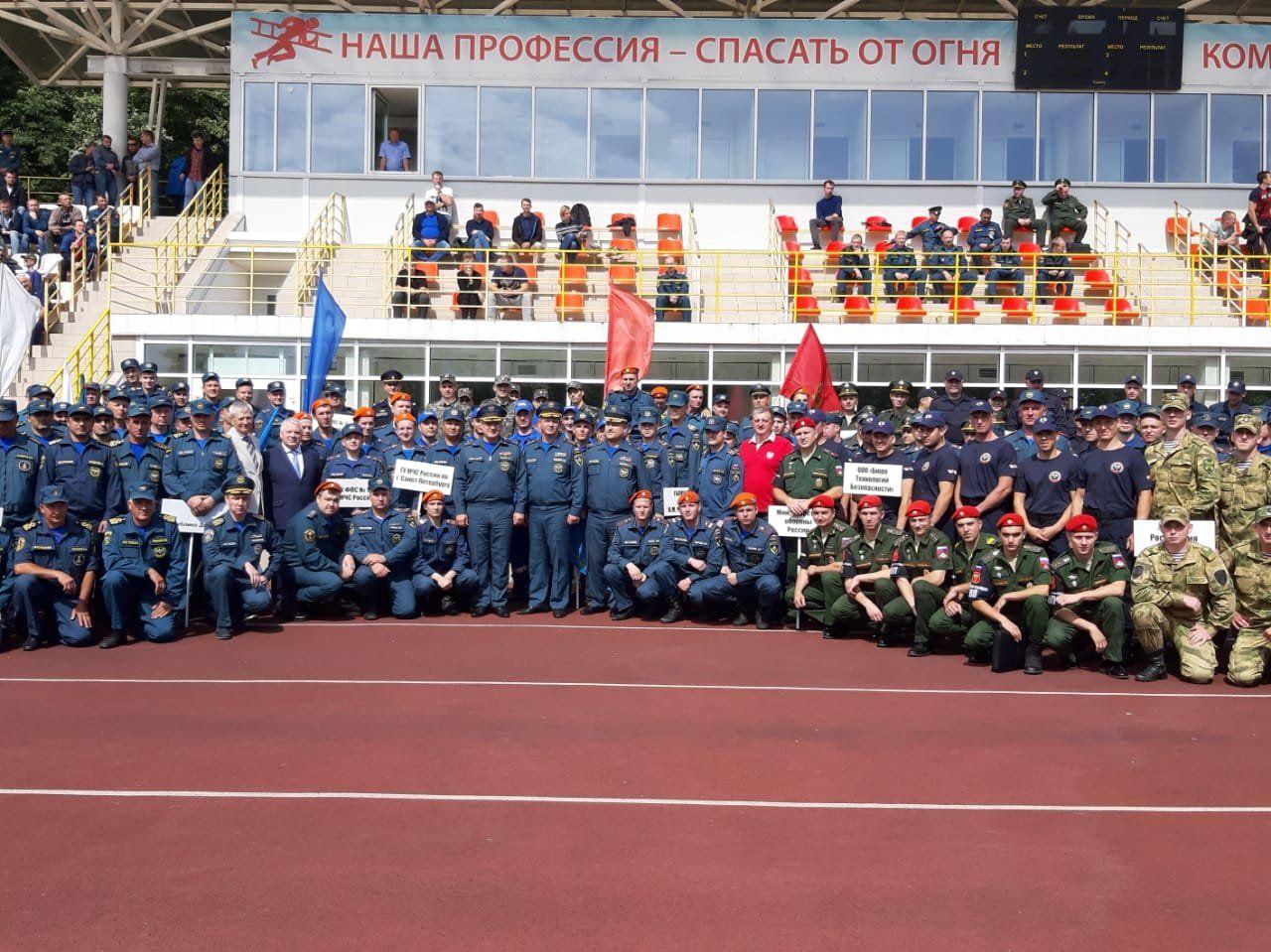 В столице стартовал Открытый Чемпионат Москвы по боевому развертыванию