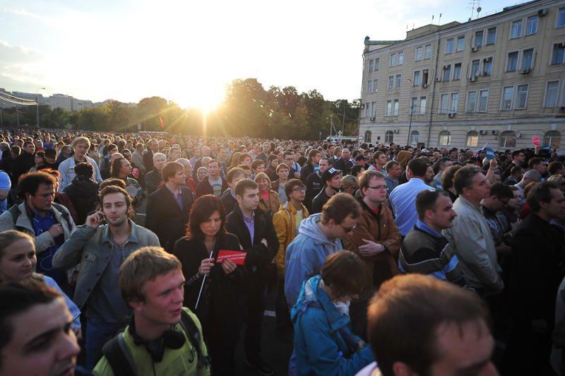 Акции 31 августа не согласовали из-за посвященных Дню знаний торжеств