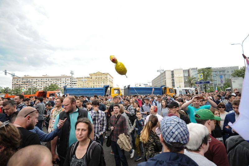 Оппозиционер признал, что за беспорядки 27 июля ответственны Соболь и Навальный
