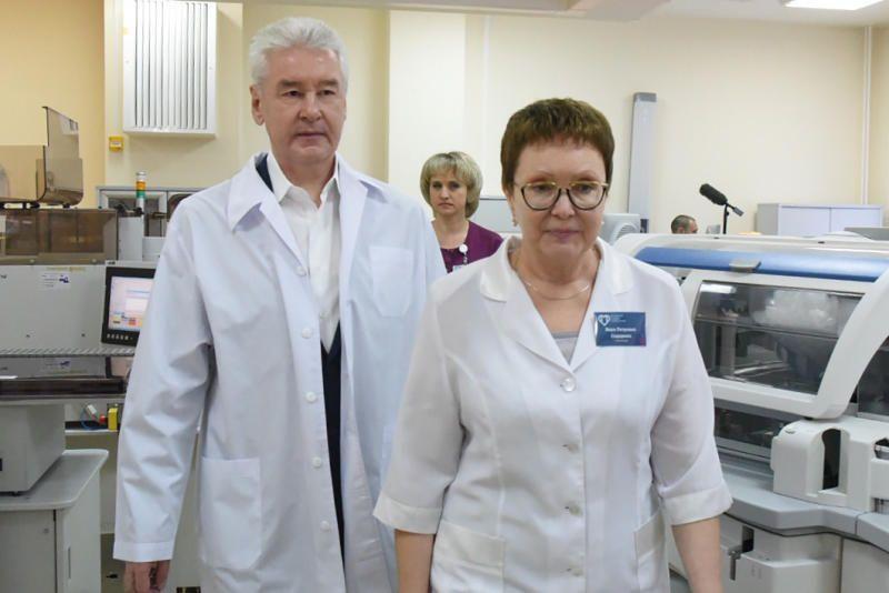 Собянин осмотрел диагностический центр на юго-западе Москвы