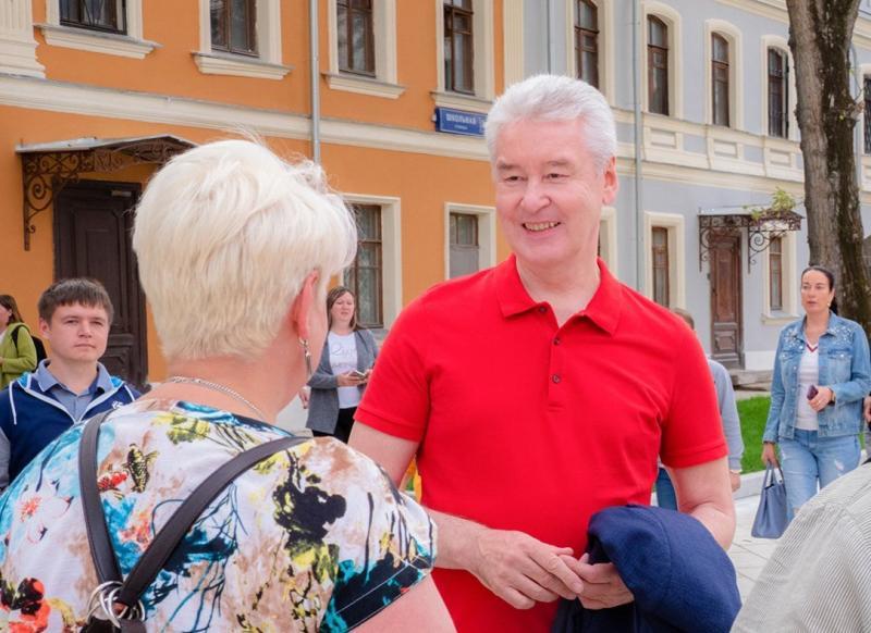 Собянин отметил масштаб работ по благоустройству Зеленограда