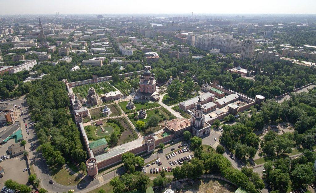 Круглую и квадратную башни Донского монастыря отреставрируют. Фото: сайт мэра Москвы