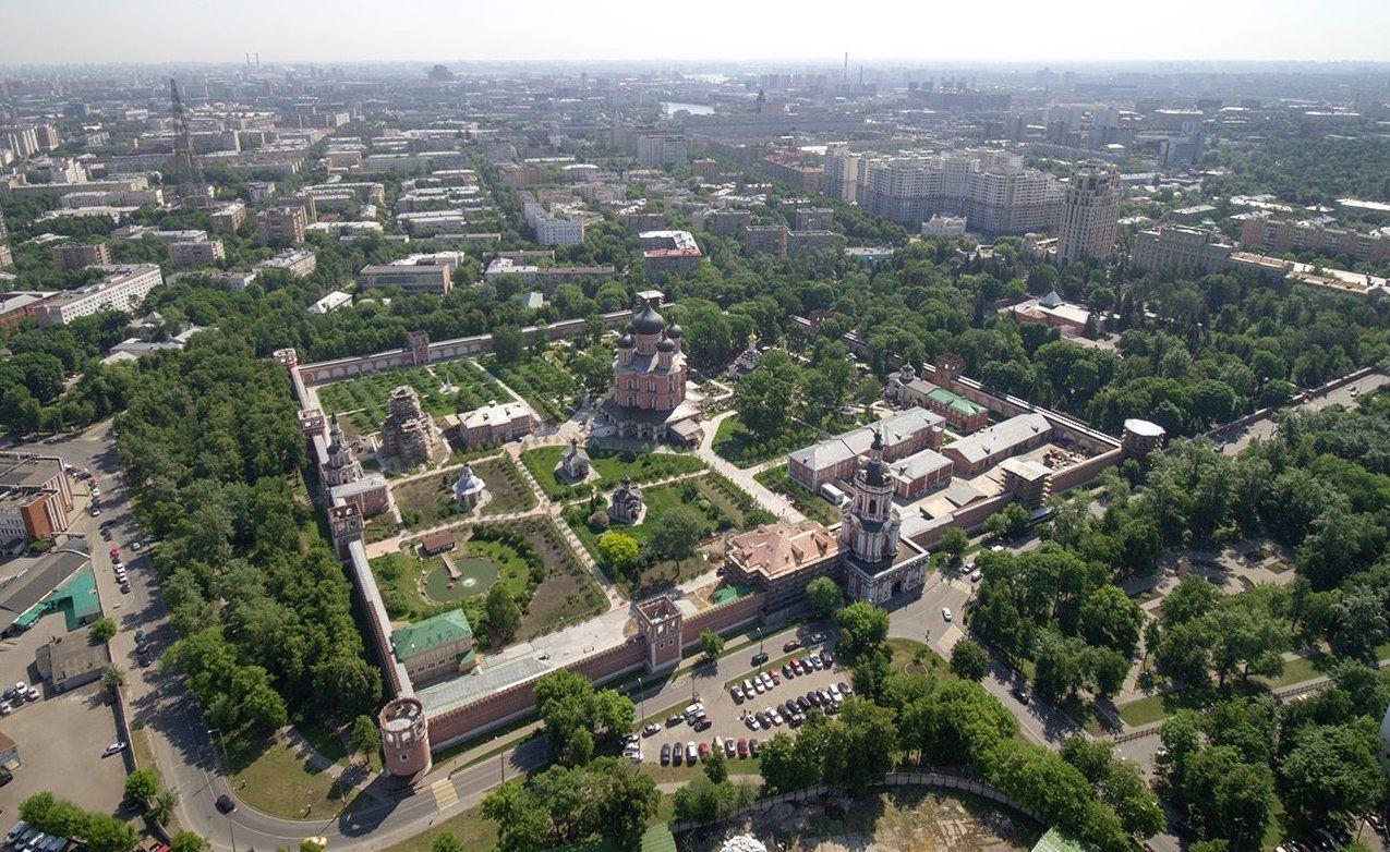 Круглую и квадратную башни Донского монастыря отреставрируют