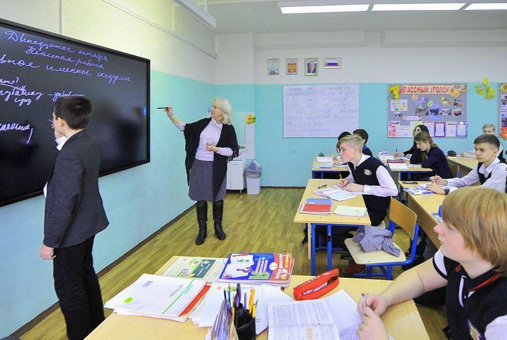 Более 3 тыс материалов МЭШ опубликовано учителями частных школ. Фото: сайт мэра Москвы