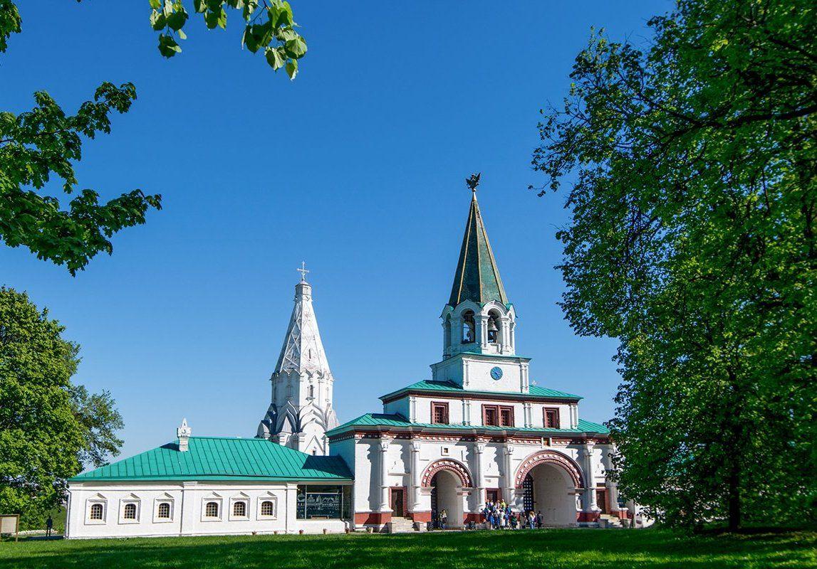 Музей-заповедник «Коломенское» вошел в рейтинг популярных столичных мест по версии пользователей социальной сети