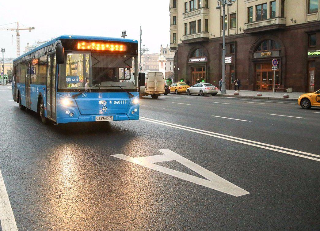 Новые выделенные полосы для общественного транспорта появятся на юге