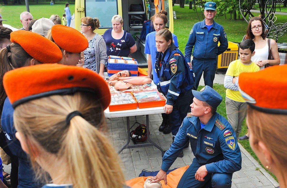 Ребята из Чертанова Южного победили на XV Всероссийских соревнованиях «Школа безопасности»