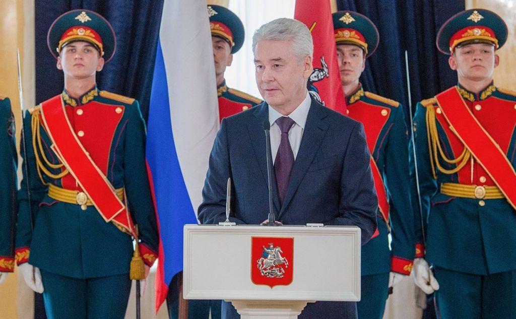 Собянин обратился к вновь избранным депутатам Мосгордумы. Фото: сайт мэра Москвы