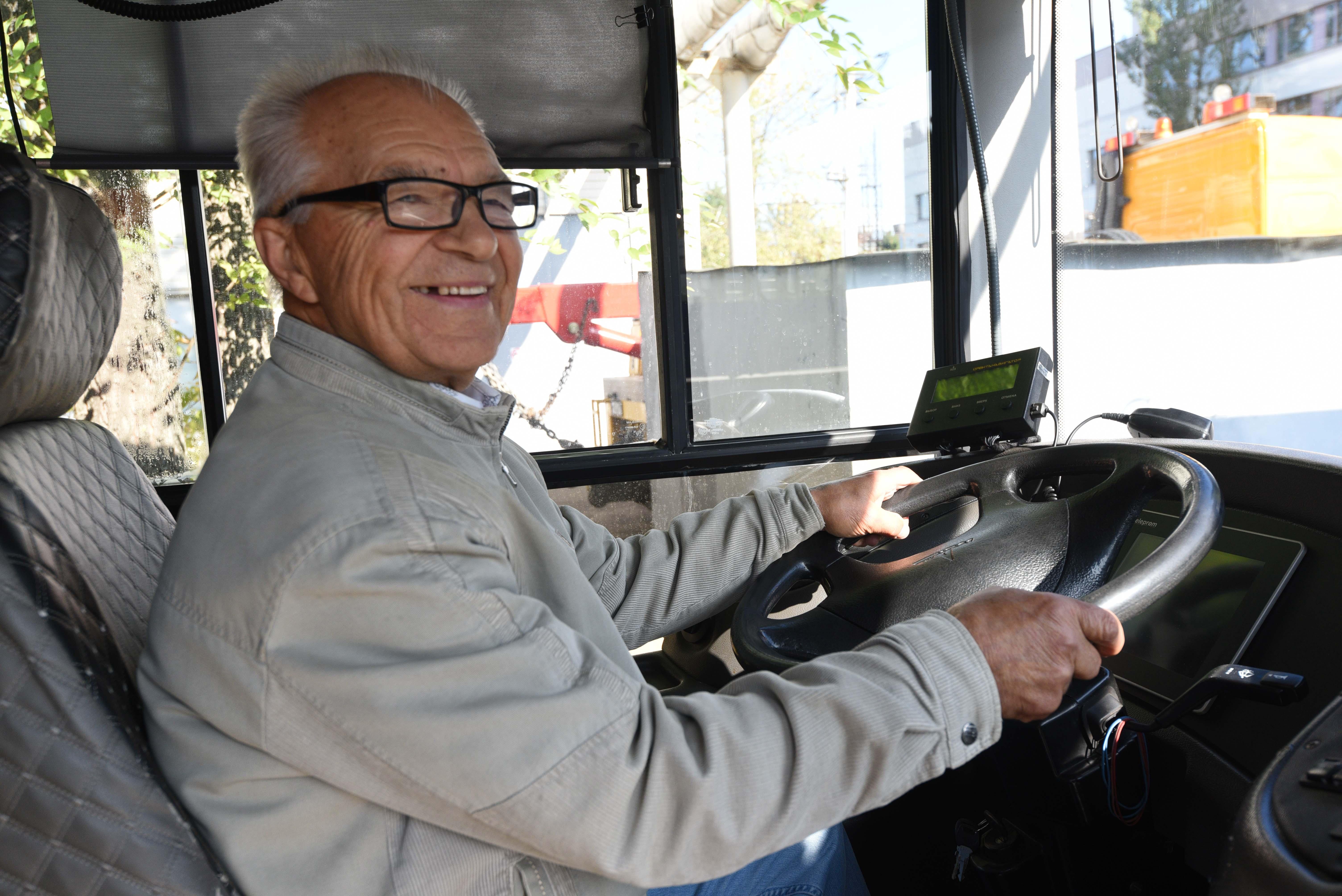 Всех троллейбусов водитель