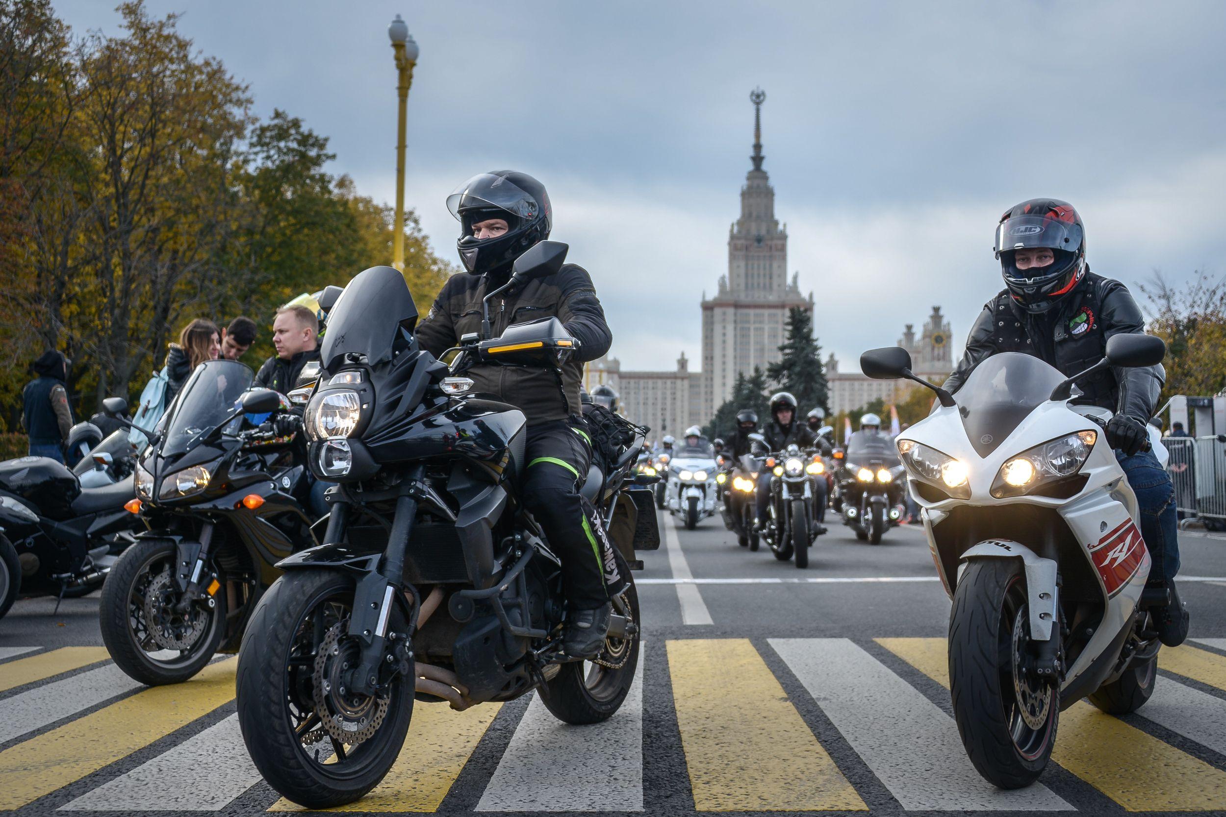 Московские байкеры закроют сезон на осеннем мотофестивале
