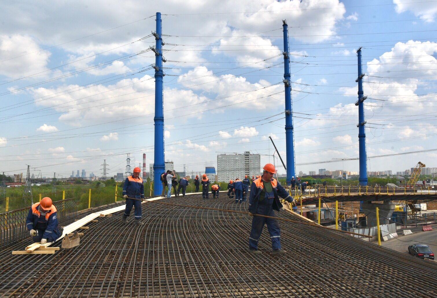 Сентябрь стал месяцем новых рязвязок и магистралей в Москве