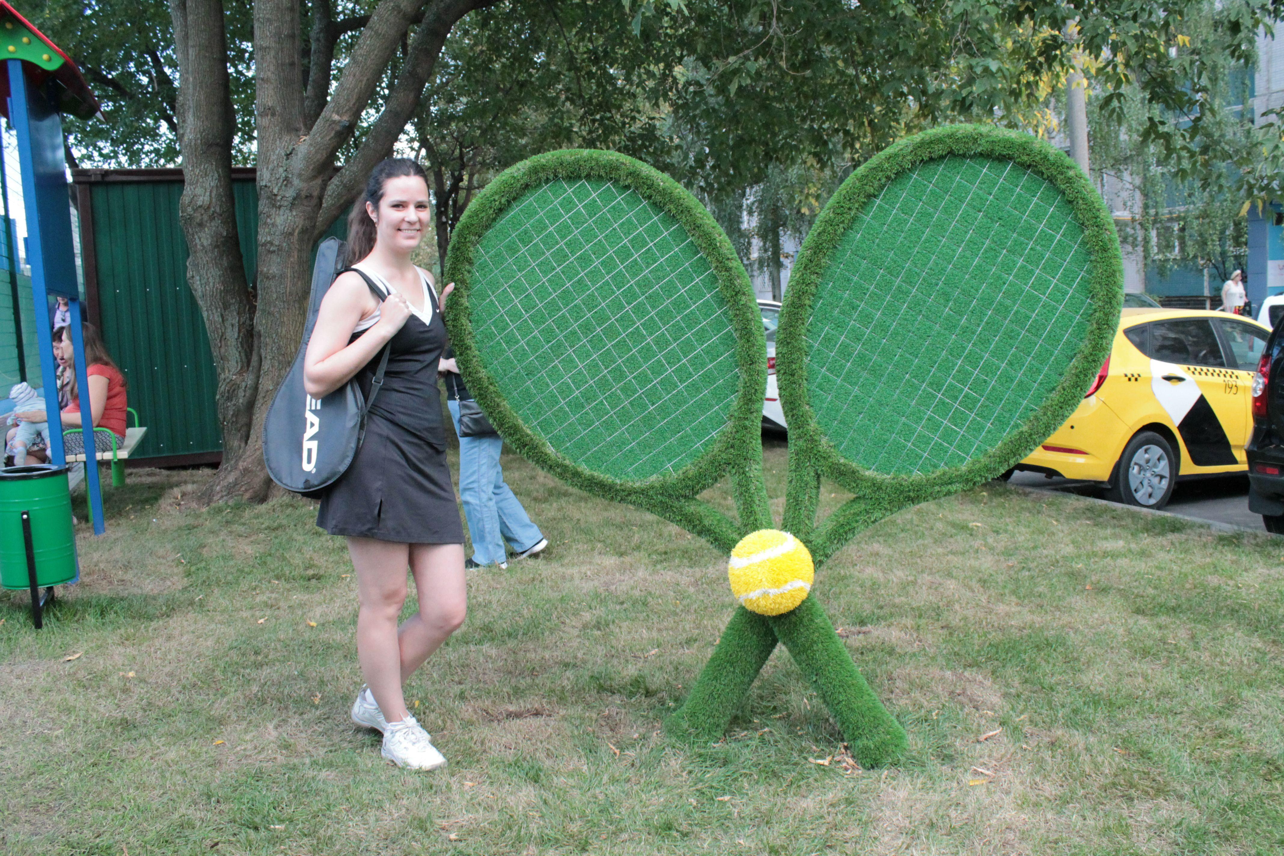 Долгожданный теннисный корт открыт