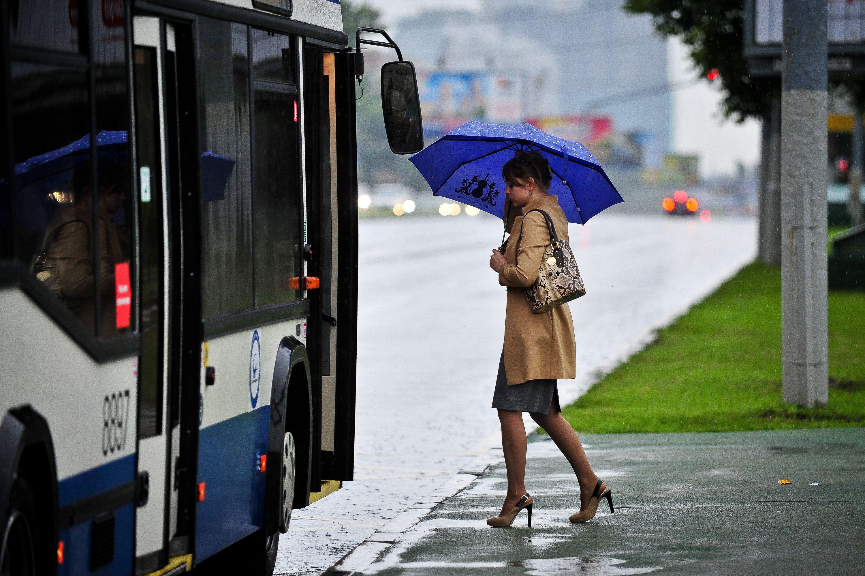 Московская среда будет безветренной и дождливой