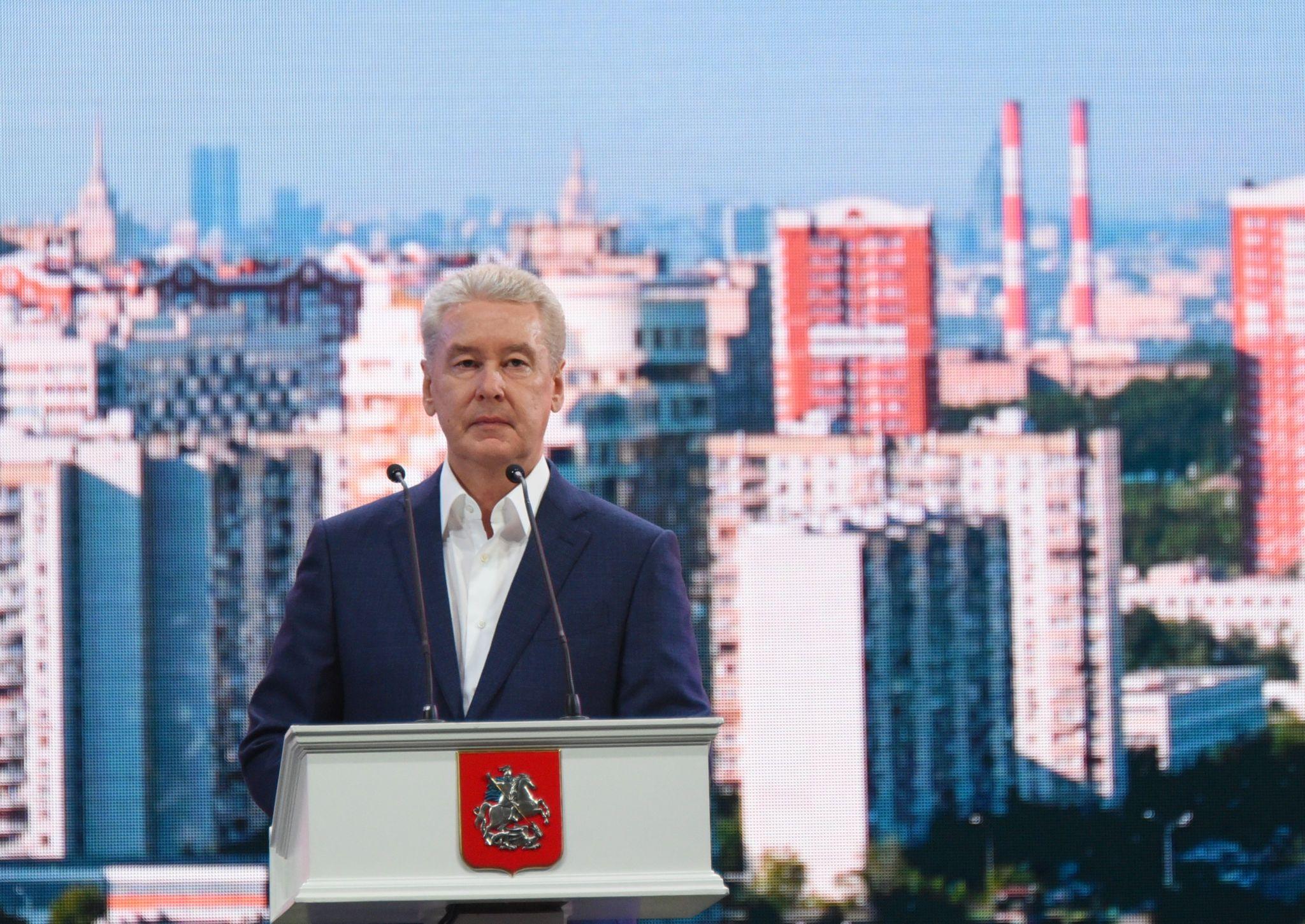 Сергей Собянин запустил движение по развязке МКАД и улице Генерала Дорохова